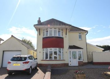 Thumbnail 3 bed detached house for sale in Port Road East, Barry