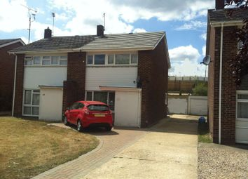Thumbnail 3 bed semi-detached house for sale in Austin Road, Woodley, Reading