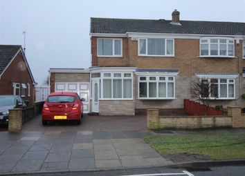 Thumbnail 3 bed semi-detached house to rent in Thames Road, Billingham