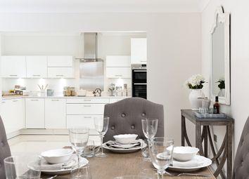 Thumbnail 3 bed flat for sale in Plot 142, Sanderling House, Millbrook Village, Exeter, Devon