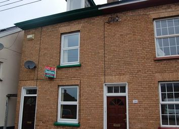 Thumbnail 3 bed terraced house to rent in Wellbrook Street, Tiverton