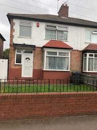 Thumbnail 3 bed semi-detached house to rent in Wheelwright Road, Erdington, Birmingham