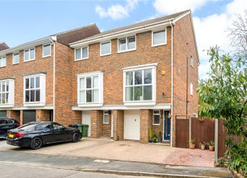 Thumbnail 5 bed end terrace house for sale in Wynton Grove, Walton-On-Thames, Surrey