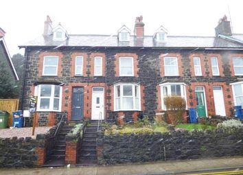 Thumbnail 2 bed terraced house for sale in Caernarfon Road, Bangor, Gwynedd