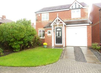 Thumbnail 3 bedroom detached house for sale in The Wynd, Forest Hall, Newcastle Upon Tyne