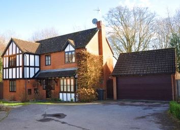 Thumbnail 4 bed detached house for sale in Shaw Close, Andover