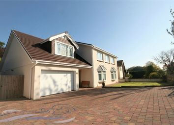 Thumbnail 4 bed detached house for sale in Derwen Fawr Road, Sketty, Swansea