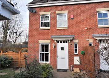 Thumbnail 3 bed semi-detached house for sale in Town Lands Close, Wombwell, Barnsley