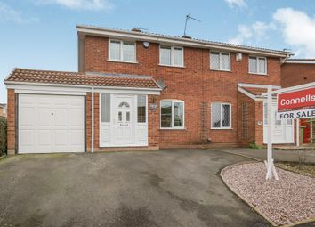 Thumbnail 3 bed semi-detached house for sale in Milestone Way, Coppice Farm, Willenhall