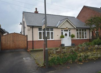 Thumbnail 2 bedroom detached bungalow for sale in Springfield Avenue, Ashgate, Chesterfield