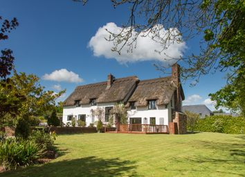 Thumbnail 5 bed detached house for sale in Kenn, Exeter