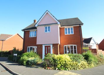 Thumbnail 4 bedroom detached house for sale in Dunnock Close, Stowmarket