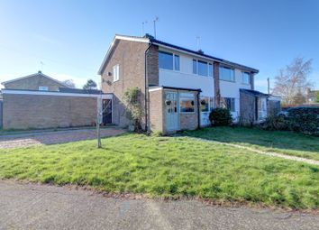 Thumbnail 3 bed semi-detached house for sale in Chewells Close, Haddenham, Ely