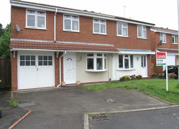Thumbnail 4 bedroom semi-detached house for sale in Hawthorne Road, Nr Broad Lane South, Wednesfield, Wolverhampton