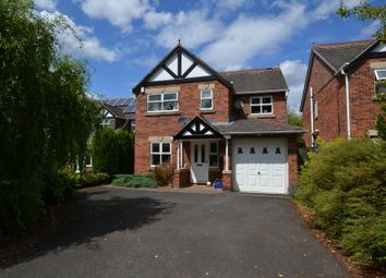 Thumbnail 4 bed detached house for sale in Hampton Drive, Market Drayton