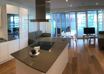 Thumbnail 2 bed flat to rent in Arena Tower, London