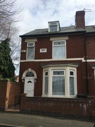 Thumbnail 4 bedroom end terrace house for sale in Wilfred Street, Derby, Derbyshire