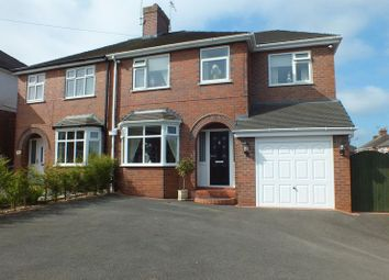 Thumbnail 4 bed semi-detached house for sale in High Street, Newchapel, Stoke-On-Trent