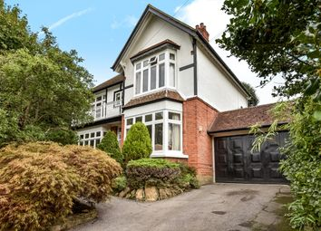 Thumbnail 5 bed detached house to rent in West Hill Road, Hook Heath, Woking