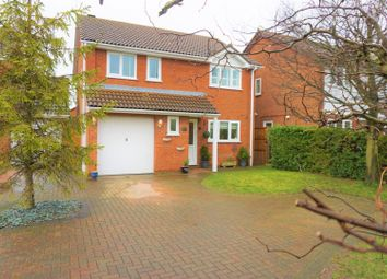 Thumbnail 4 bed detached house for sale in Temple Grange, Peterborough