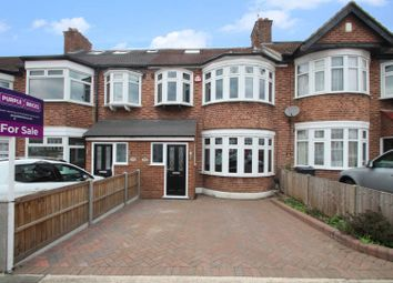 Thumbnail 4 bed terraced house for sale in Stanley Avenue, Romford
