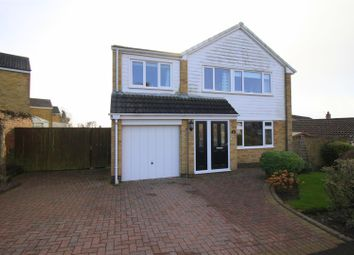 Thumbnail 4 bed detached house for sale in Pinewood Crescent, Heighington Village, Newton Aycliffe