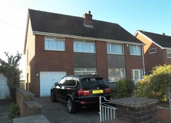 Thumbnail 3 bed semi-detached house to rent in Sketty Park Drive, Derwen Fawr, Sketty, Swansea