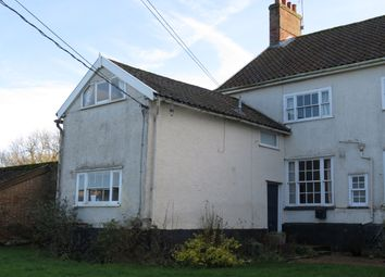 Thumbnail 2 bed semi-detached house to rent in Fen Road, Redgrave