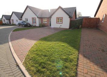 Thumbnail 2 bed semi-detached bungalow for sale in Oak Avenue, Longtown, Carlisle