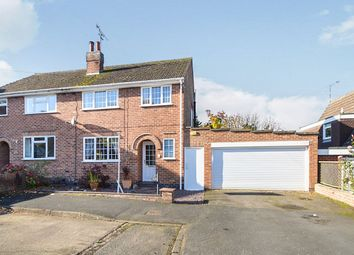 Thumbnail 3 bed semi-detached house for sale in Anthony Drive, Thurnby, Leicester