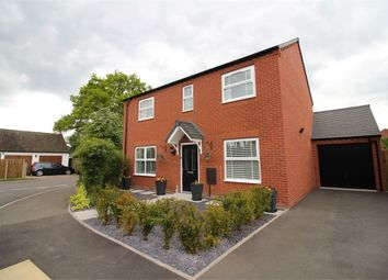 Thumbnail 4 bed detached house for sale in Willow Field Drive, Lower Broadheath, Worcester