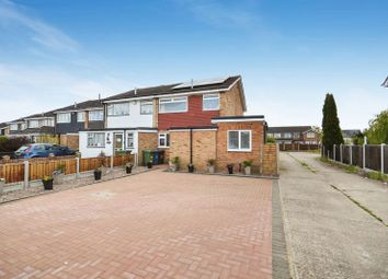 Thumbnail 3 bed end terrace house for sale in Howell Road, Corringham, Stanford-Le-Hope
