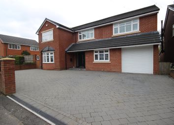 Thumbnail 4 bedroom detached house for sale in The Moorings, Worsley, Manchester