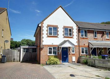 Thumbnail 3 bed end terrace house for sale in Juno Close, Goring-By-Sea, Worthing, West Sussex