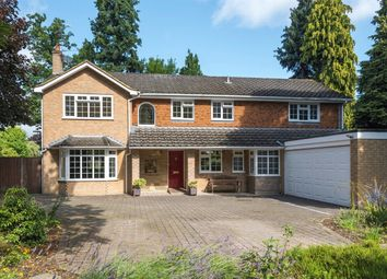 Thumbnail 5 bed detached house for sale in Robin Hill Drive, Camberley, Surrey