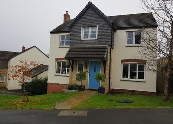 Thumbnail 4 bed detached house for sale in Cherry Tree Road, Axminster, Devon
