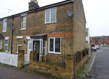 Thumbnail 2 bed end terrace house to rent in Gresham Road, Brentwood