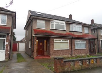 Thumbnail 5 bedroom semi-detached house to rent in Cunningham Avenue, Enfield