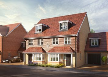 Thumbnail 4 bedroom semi-detached house for sale in Jubilee Meadows, Felcott Road, Hersham, Surrey