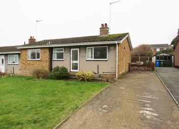 Thumbnail 3 bed semi-detached bungalow to rent in Glebe Road East, Kessingland, Lowestoft