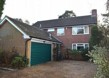 Thumbnail 4 bed detached house for sale in Sandy Lane, Camberley, Surrey