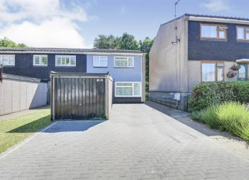 Thumbnail 3 bed end terrace house for sale in Mansell Close, Eastwood, Leigh-On-Sea