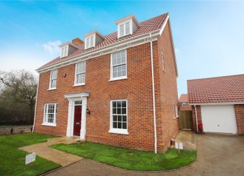Thumbnail 5 bed detached house for sale in Bromedale Avenue, Mulbarton, Norwich