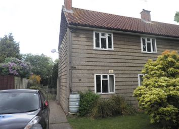 Thumbnail 3 bedroom semi-detached house to rent in Park Avenue, North Walsham