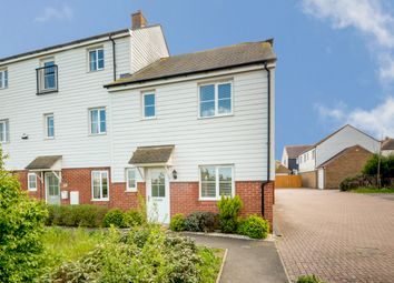 Thumbnail 3 bed semi-detached house for sale in Damara Way, Bridgefield, Ashford