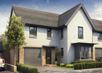 "Thumbnail 4 bed detached house for sale in ""Halstead"" at Redwood Drive, Plympton, Plymouth"