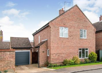 Thumbnail 3 bed detached house for sale in Moorhouse Close, Reepham, Norwich