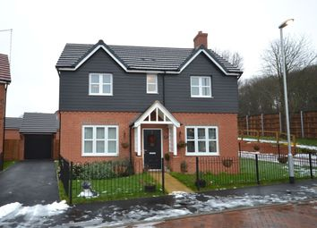 Thumbnail 4 bedroom detached house for sale in Harcourt Way, Hunsbury Fields, Northampton