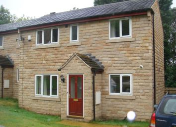 Thumbnail 2 bed semi-detached house to rent in Bramble Bank, Holmfirth