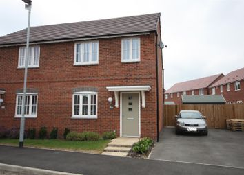 Thumbnail 3 bed semi-detached house for sale in Coronet Drive, Ibstock